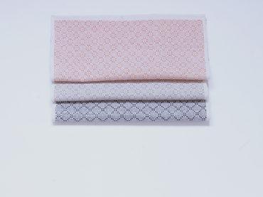 Handwoven handkerchiefs made in very thin silk, linen and cotton yarn