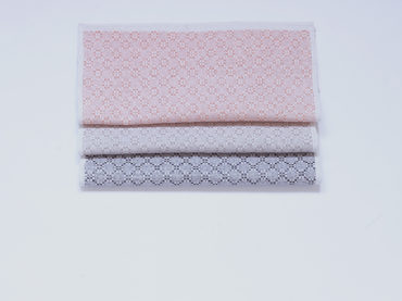Handwoven handkerchiefs made in very thin silk, linen and cotton yarn
